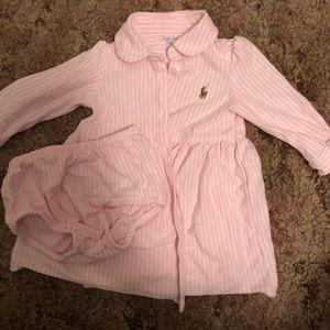 Infant Ralph Lauren Polo dress
